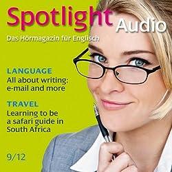 Spotlight Audio - Safari guide in South Africa. 9/2012