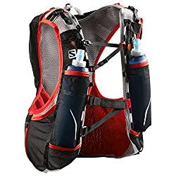Salomon S-lab Adv Skin 12 Set Black Racing Red Xxs