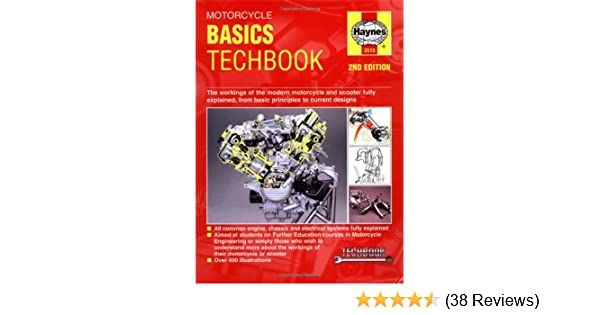 motorcycle basics techbook haynes manuals john haynes rh amazon com BMW Workshop Manual Ford Workshop Manuals