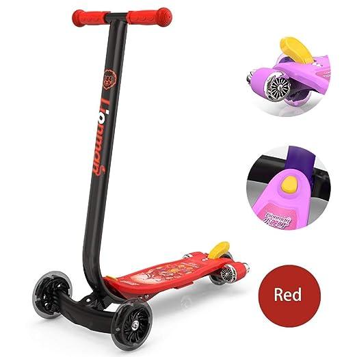 QXYA - Micro Scooters para niños con Tres Ruedas, Patinete ...