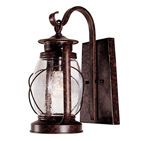 - Savoy House 5-3410-56,Smith Mountain Wall Mount Lantern,New Tortoise Shell