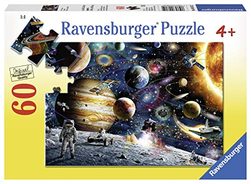 Ravensburger Outer Space 60 Piece Jigsaw Puzzle for Kids - Every Piece is Unique, Pieces Fit Together Perfectly