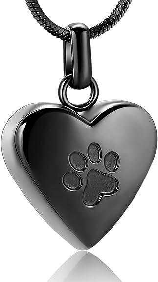 Cremation Urn Necklace 24k Gold Plated Chunky Paw Dogtag Pendant Keepsake Charm Holds Ashes Sand etc EngravingPersonalisedBespoke Pawprint