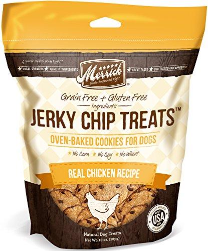 Merrick Jerky Chip Treats, Real Chicken Recipe