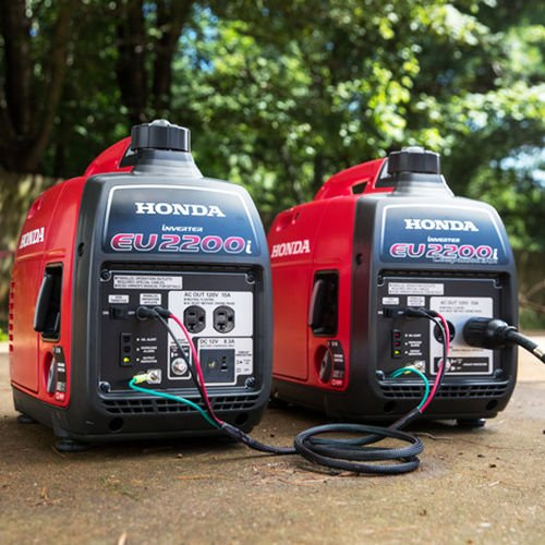 Honda EU2200i 2200W 120-Volt Portable Inverter Generator with Companion and Parallel Cables by Honda (Image #5)