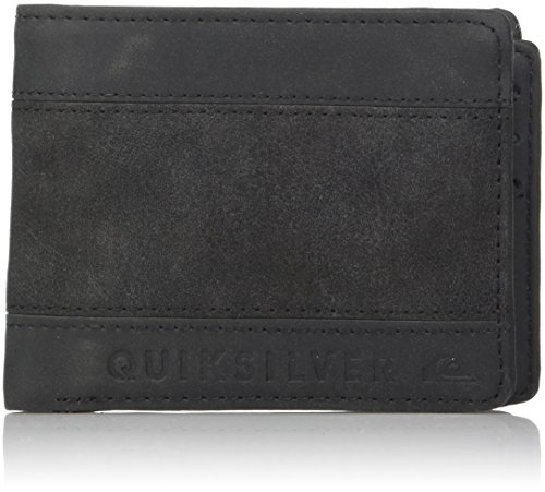 Quiksilver Men's Supply Slim Trifold Wallet, Black, M