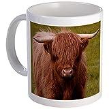 CafePress %2D Scottish Highland Cow Mug