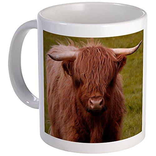 CafePress - Scottish Highland Cow Mug - Unique Coffee Mug, Coffee Cup by CafePress
