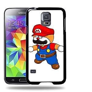 Case88 Designs Super Mario Doraemon Protective Snap-on Hard Back Case Cover for Samsung Galaxy S5