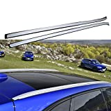 Roof Rail For Jaguar F-Pace fpace 2016 2017 2018 Baggage Luggage Roof Rack Rail