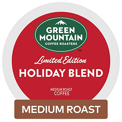 Green Mountain Coffee Single Serve K-Cup Pod, Holiday Blend, 72 Count