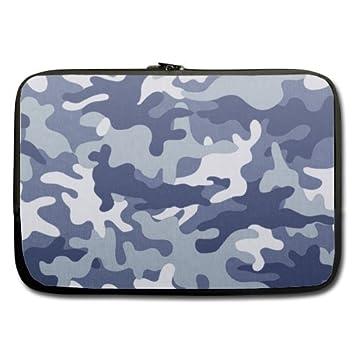 Recomendar barato - Portátil de 15.6 pulgadas (Twin Sides)/bolsa del ordenador portátil - camuflaje/camuflaje/disfraz/disfraz azul blanco: Amazon.es: ...
