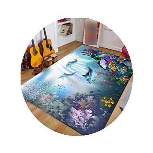 13800 Rug (3D Carpets Short Plush Fabric Mat Sofa Rug Pad,13,800mmx1200mm)