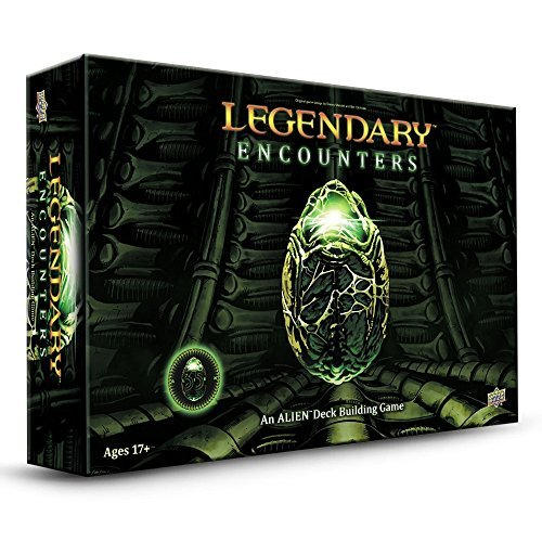 Legendary Encounters Alien Deckbuilding Game by Upperdeck Entertainment