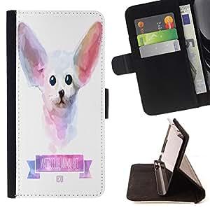 King Case - FOR HTC DESIRE 816 - ?make a good man - Prima caja de la PU billetera de cuero con ranuras para tarjetas, efectivo Compartimiento desmontable y correa para la mu?eca