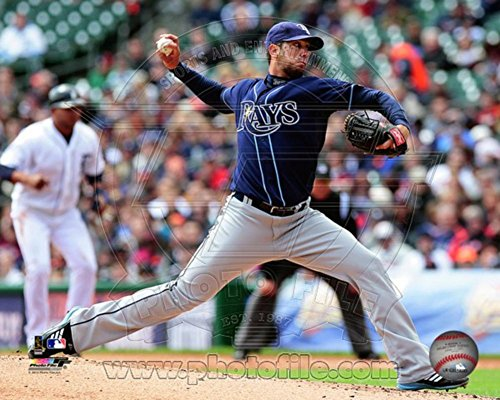 James Shields 2012 Action Photo 10 x 8in