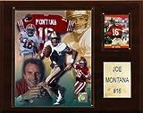 NFL Joe Montana San Francisco 49ers Player Plaque