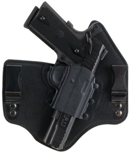 Galco KT224B Kingtuk Inside the Waistband Holster - RH, Black, fits Glock 17,19,22,23,26,27,31,32,33