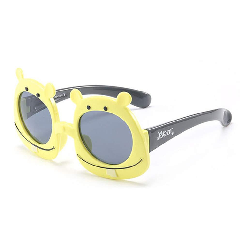 Wang-RX Oso de dibujos animados para niños Gafas de sol ...