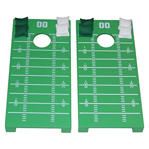 - Football Field Tabletop Cornhole Set