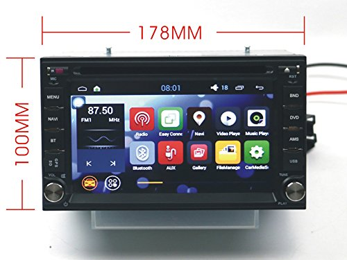 Amazon.com: Autostereo Android 5.1 6.2 Inch Universal Nissan Car ...