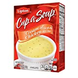 Lipton Cup-A-Soup, Cream of Chicken 4 pack (Pack of 4)