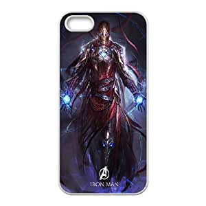 FOR Apple Iphone 5 5S Cases -(DXJ PHONE CASE)-Popular Movie Avengers Age of Ultron-PATTERN 12