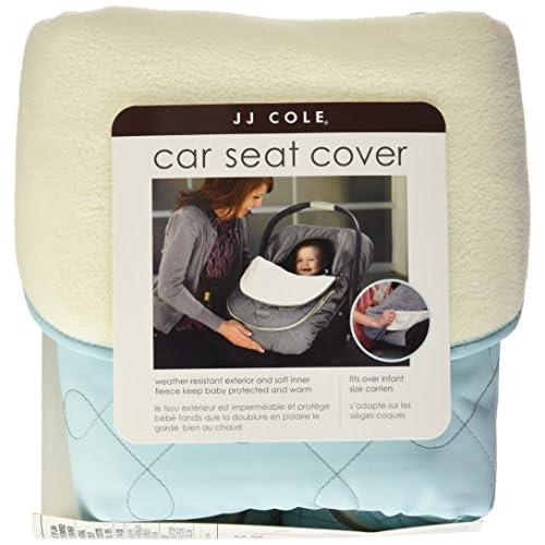 JJ Cole Car Seat Cover Black Tri Stitch
