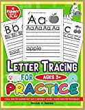 img - for Letter Tracing For Ages 3+ Practice: & Ideal Book for Learning, Most Easy & Convenient Aphabet Tracing Books for Preschoolers (Tracing Books for Kids and Toddlers) book / textbook / text book