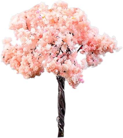 "Pink Blossoms 31051 Dollhouse Miniature Tree 3 1//2/"" Tall"