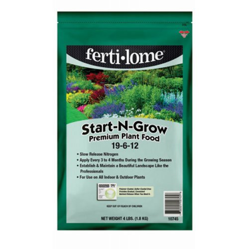 - Voluntary Purchasing Group 10745 Fertilome Start and Grow Premium Plant Food, 4-Pound
