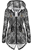 Meaneor Women's RAIN MAC RAINCOAT FISHTAIL KAGOOL PARKA FESTIVAL JACKET COAT