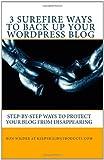 3 Surefire Ways to Back up Your Wordpress Blog, Ron Wilder at KeepSmilingProducts.com, 1456420224