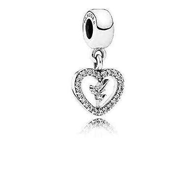 7025505c4 Amazon.com: PANDORA Disney Pendant Love Tinkerbell 791565CZ: Jewelry