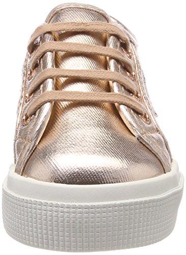 Superga Unisex-Kinder 2730 Cotmetj Sneaker Pink (Rose Gold)