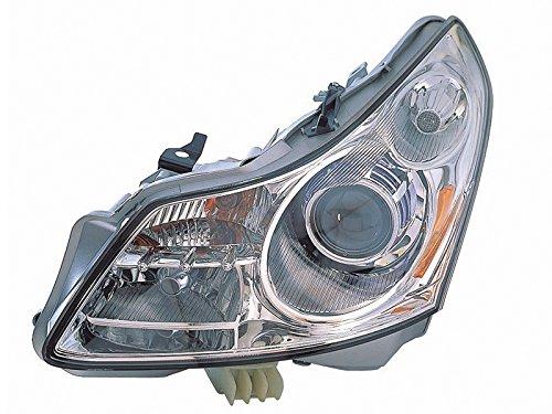 For Infiniti G35 07 08 G37 09 Sedan Xenon Without Technology Pkg Head Light Lh ()