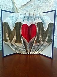 MoM Folded Book Sculpture