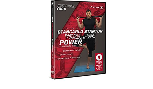 Gaiam Athletic Yoga: Yoga for Power with Giancarlo Stanton ...