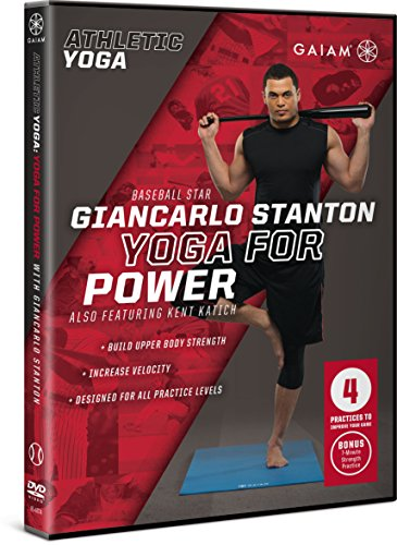 Gaiam Athletic Yoga: Yoga for Power with Giancarlo Stanton