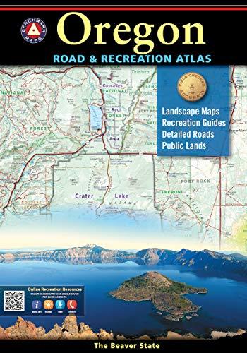 Oregon Road & Recreation Atlas (Benchmark) (Oregon Outlets)