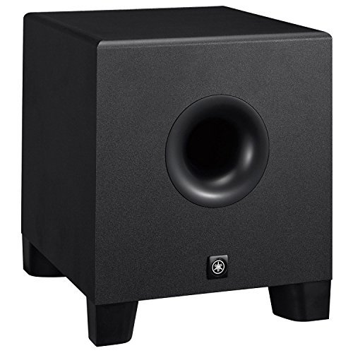 Yamaha HS8S Powered Studio Subwoofer 8'' + (3) XLR to XLR Cables