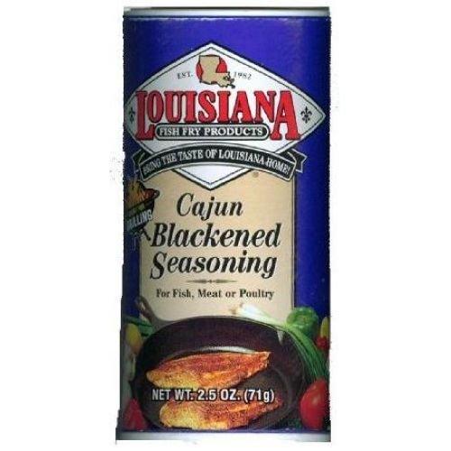 Louisiana Fish Fry Cajun Blackened Seasoning, 2.5 Ounce -- 3 per case.