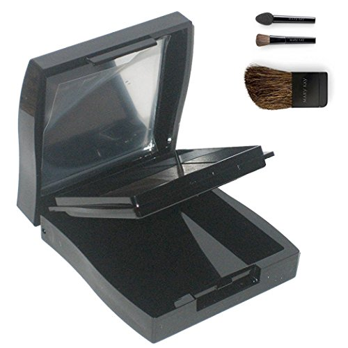 Mary Kay Compact Mini with Tools (Compact Cheek Brush and Eye Applicators) (Mary Kay Mini)
