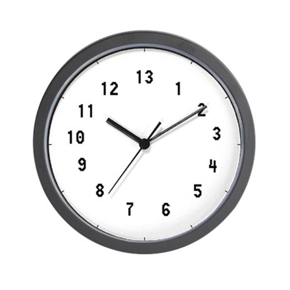 CafePress - 13 Hour Clock - Unique Decorative 10