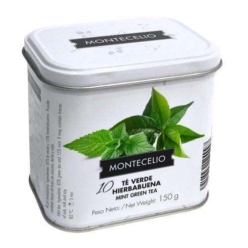 Montecelio - Té en Rama Té Verde Hierbabuena - 150 g: Amazon.es: Alimentación y bebidas