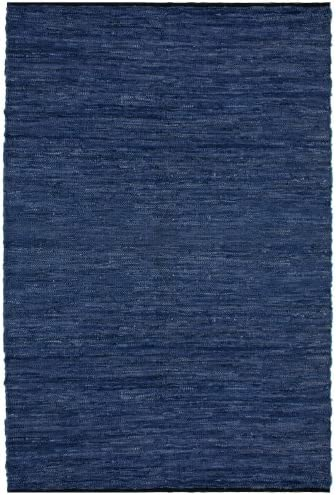 Blue Leather Matador 5 x8 Rug