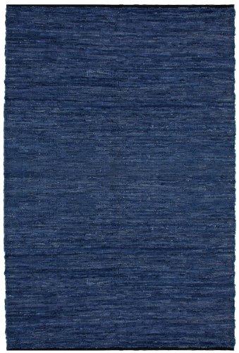 Blue Leather Matador 5 x8 Rug