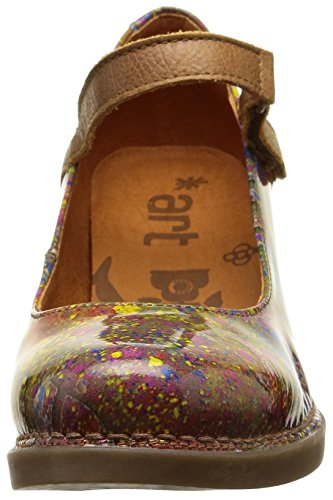 Zapatos Harlem Multicolore Urban de Mehrfarbig Mujer 933 Art Vestir Holi q7vOTwEUqx