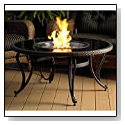 The Outdoor GreatRoom Company 42-Inch Glass Fire Pit Table
