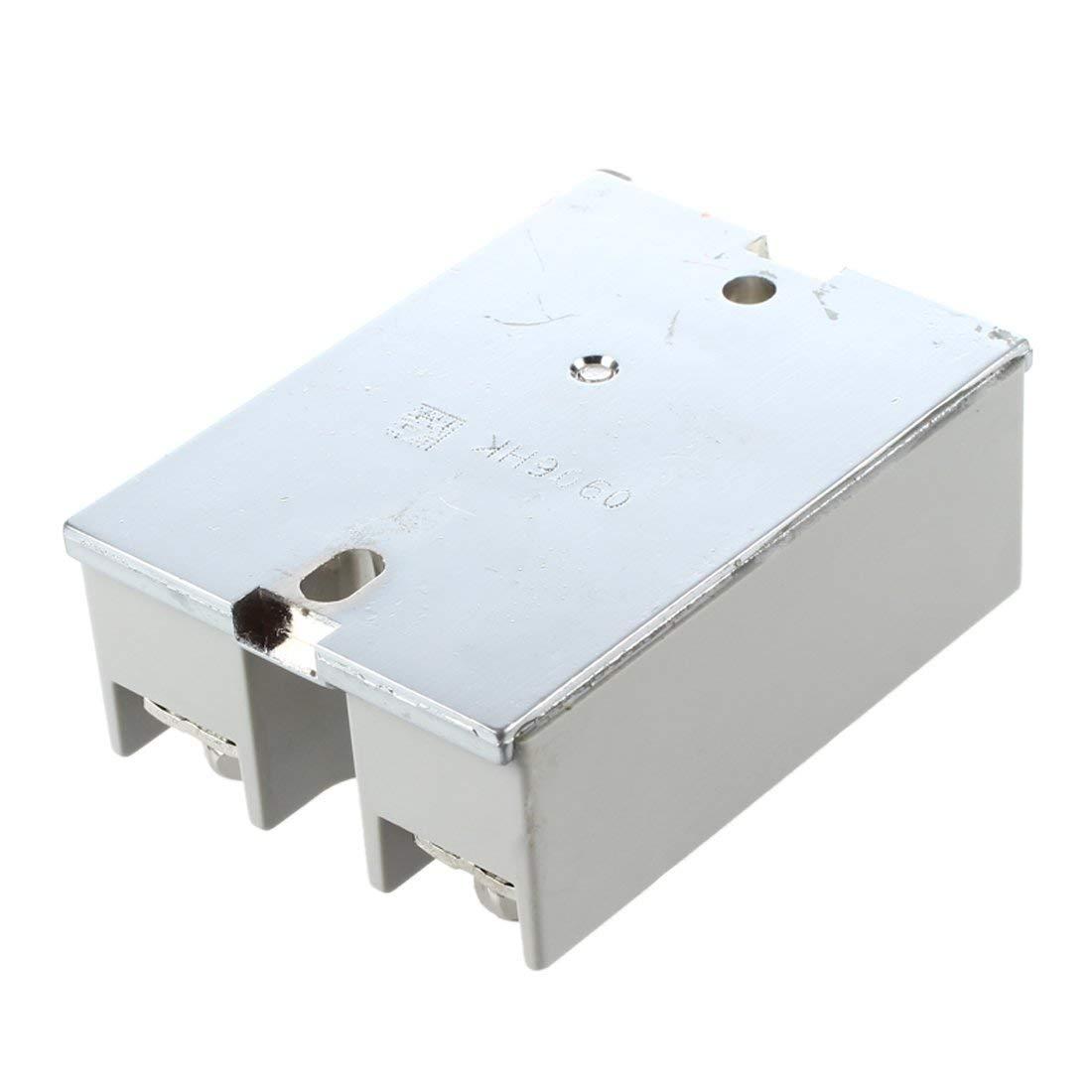 Temperature Control Halbleiterrelais SSR-40Da 40A 3-32V DC 24-380V AC R SODIAL